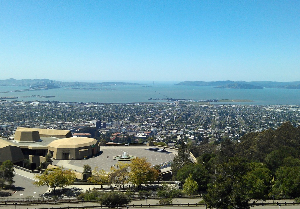 Picture Overlooking Lawrence Hall and San Francisco Bay