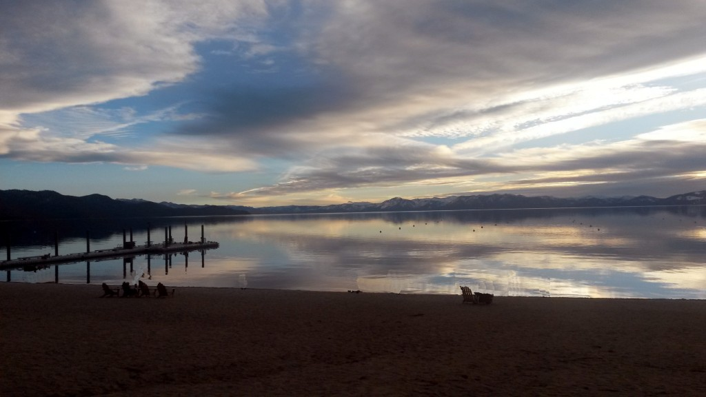 Lake Tahoe in the Evening