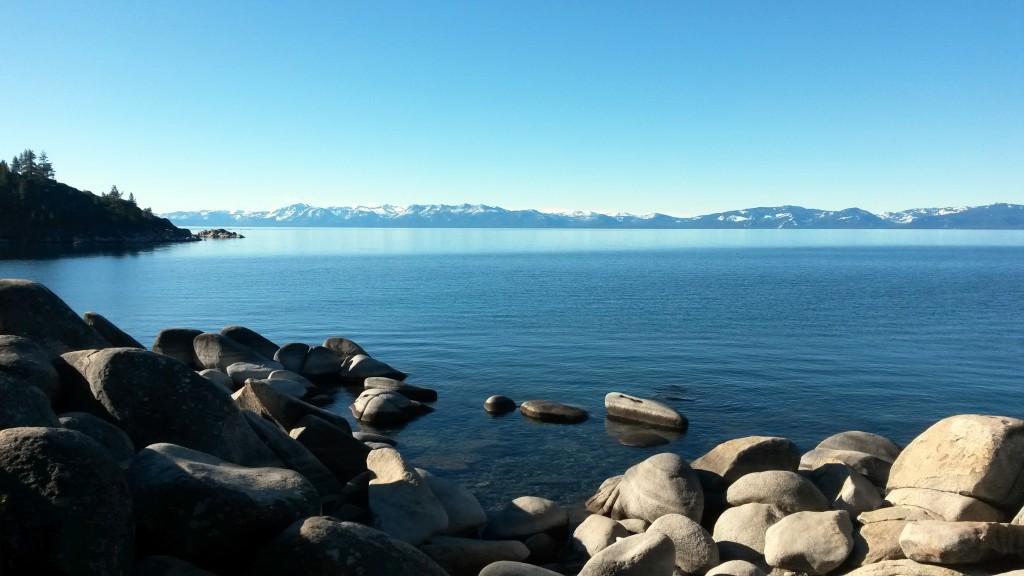 Some rocks at Lake Tahoe